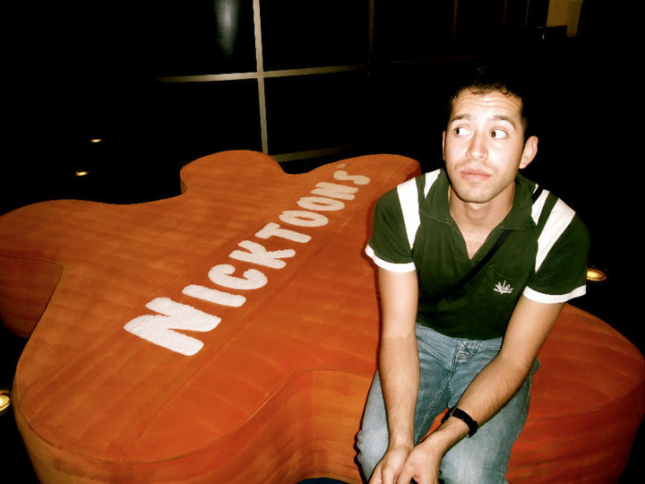 Fabian Corona at Nickelodeon Animation Studio