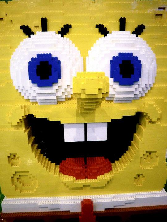 Spongebob Legos