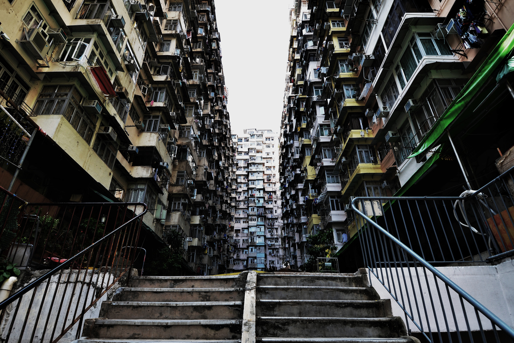 Yick Cheong and Yick Fat Building by Eden Wu