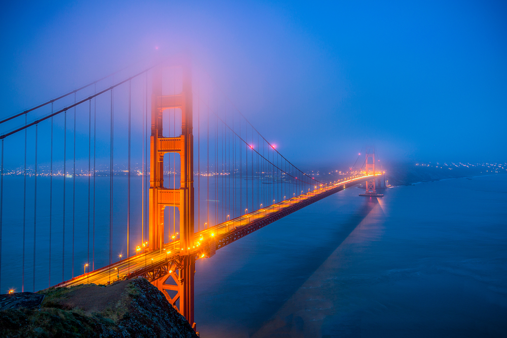 Blue Golden Morning || San Francisco, CA