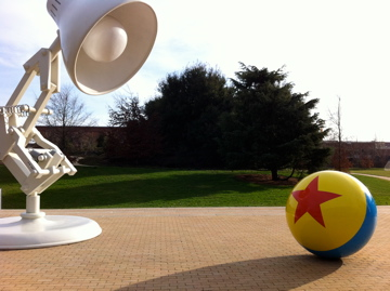 Pixar Animation Studios Campus - Luxo Jr and Pixar Ball