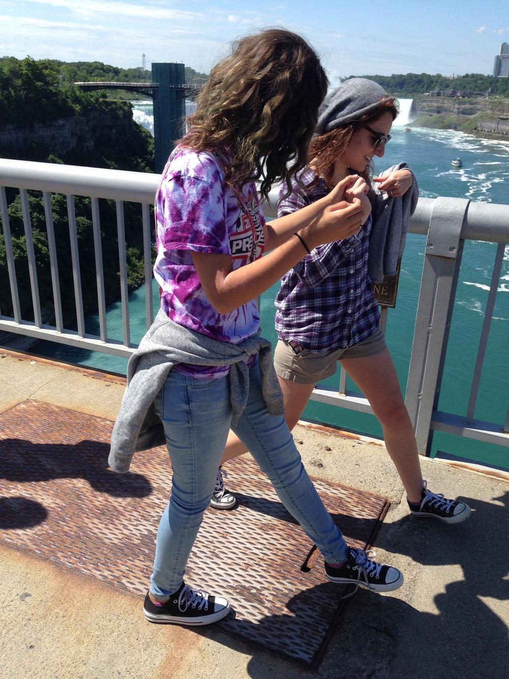 Crossing into Canada