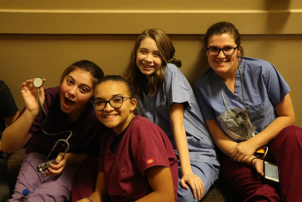 Our nurse ladies