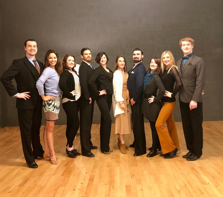 From left to right: Ravin, Chelsea, Elisha, Madrid, Natalie, Cara, Cory, Emily, Sara & Xander