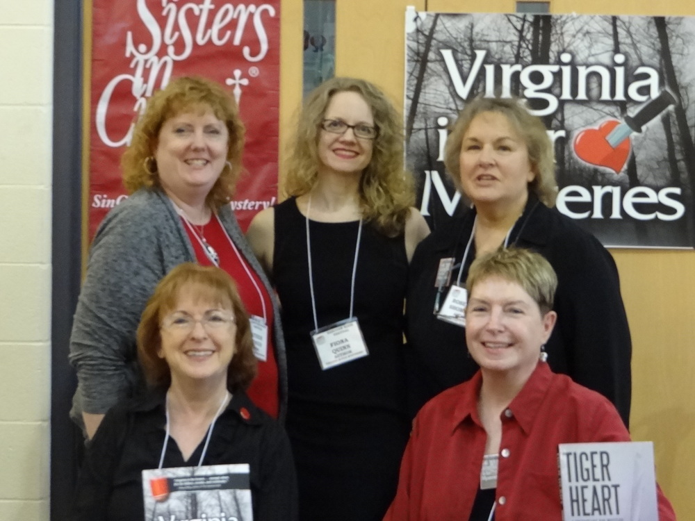 Front: Maggie King and Vivian Lawry Back: Heather Weidner, Fiona Quinn, and Rosemary Shomaker