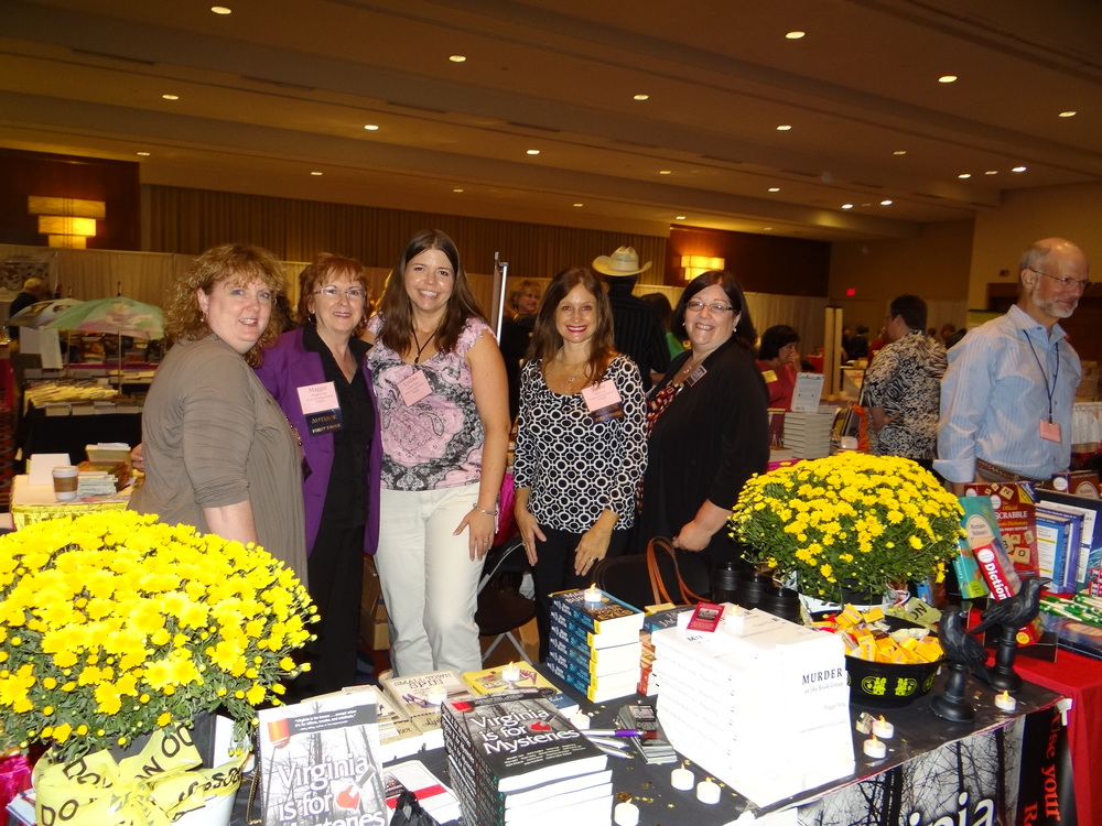 l to r: Heather Weidner, Maggie King, Lyndee Walker, Teresa Inge, and Yvonne Saxon