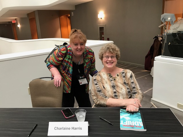 Me with the Wonderful Charlaine Harris