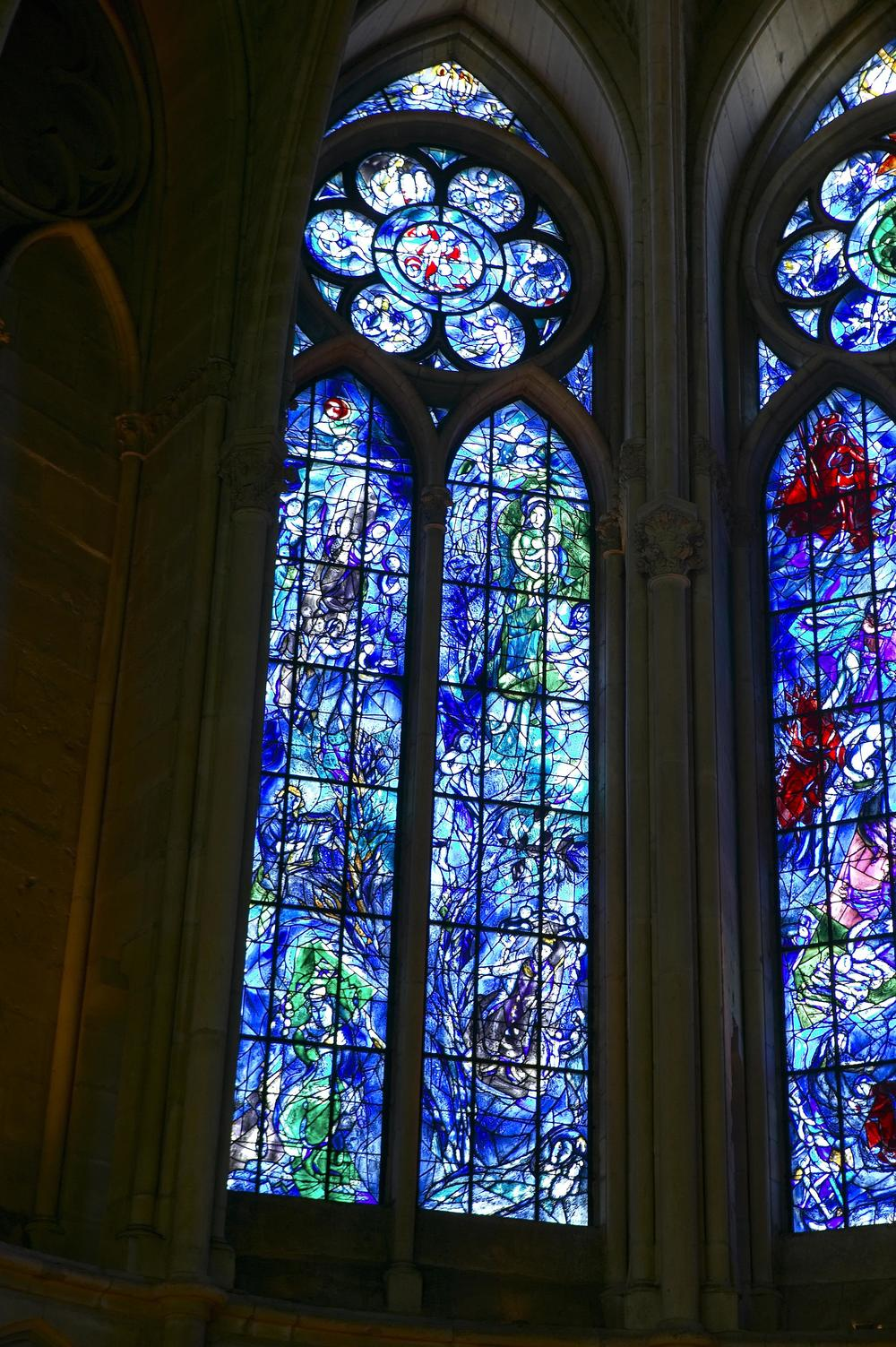 "Chagall Windows: ""The Tree of Jesse"""