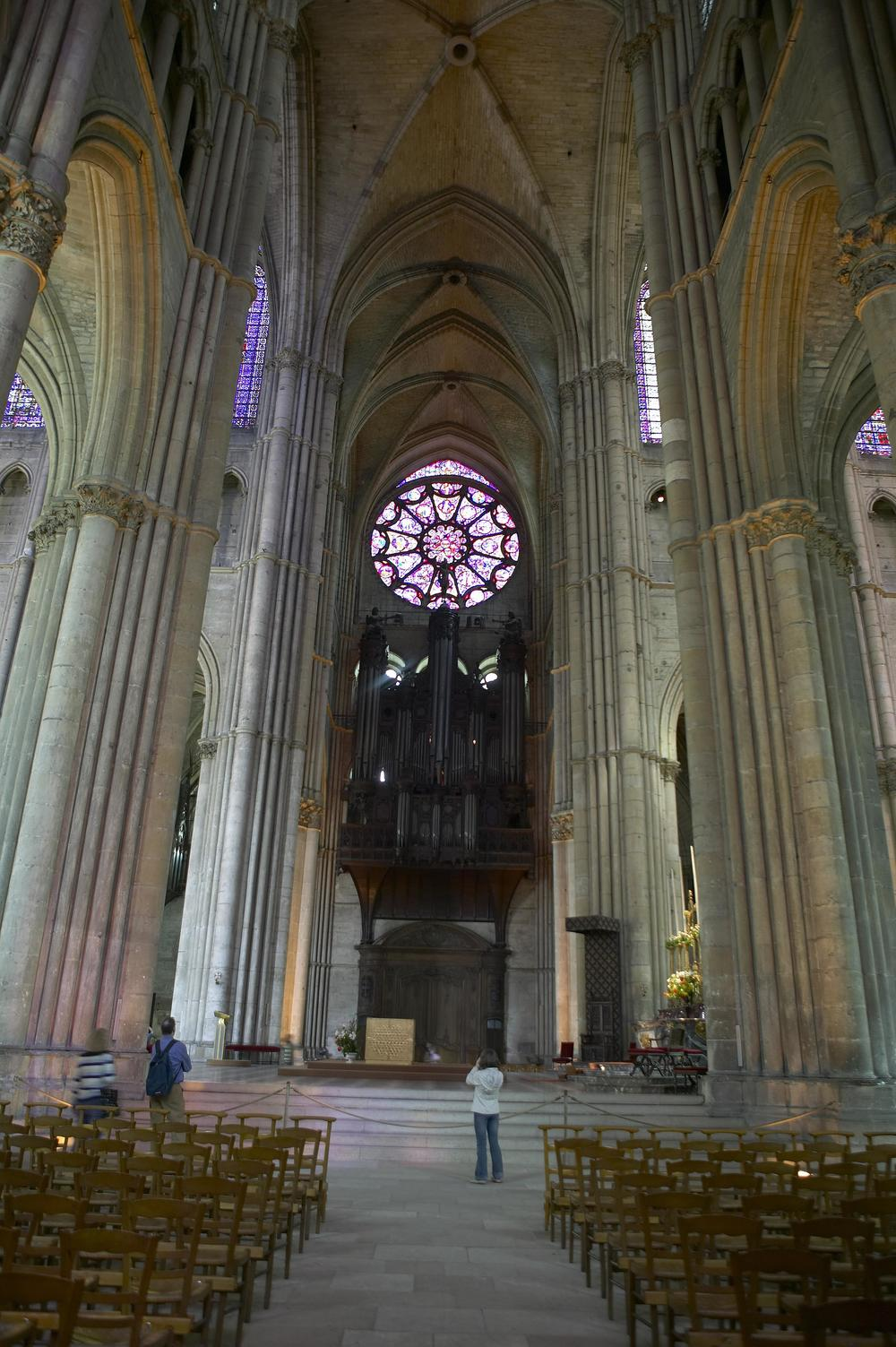 View of the Organ, Reims Cathedral