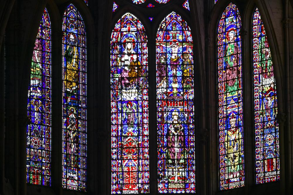 Stained Glass Windows, Apse, Reims Cathedral