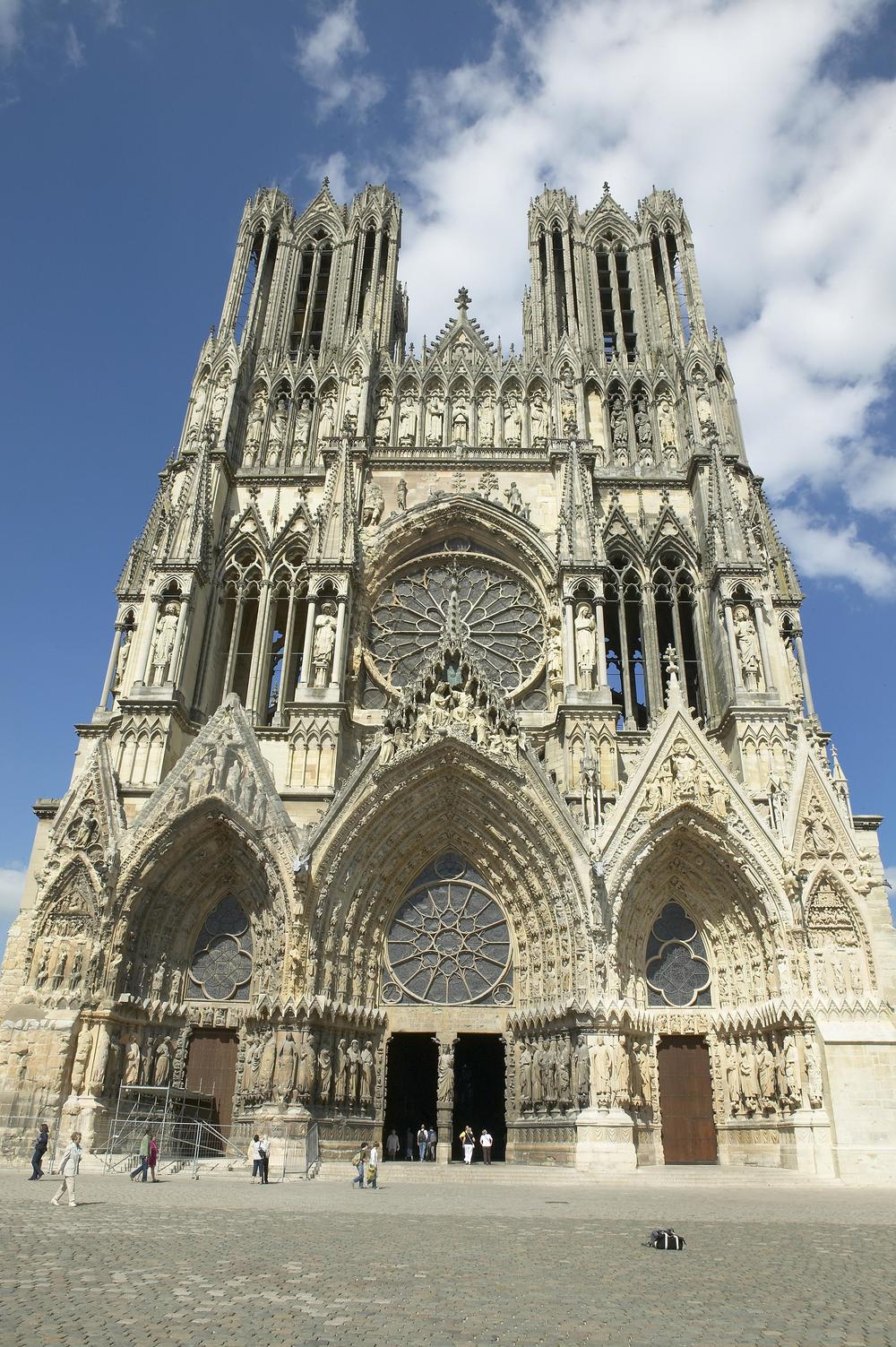 West Facade of Reims Cathedral