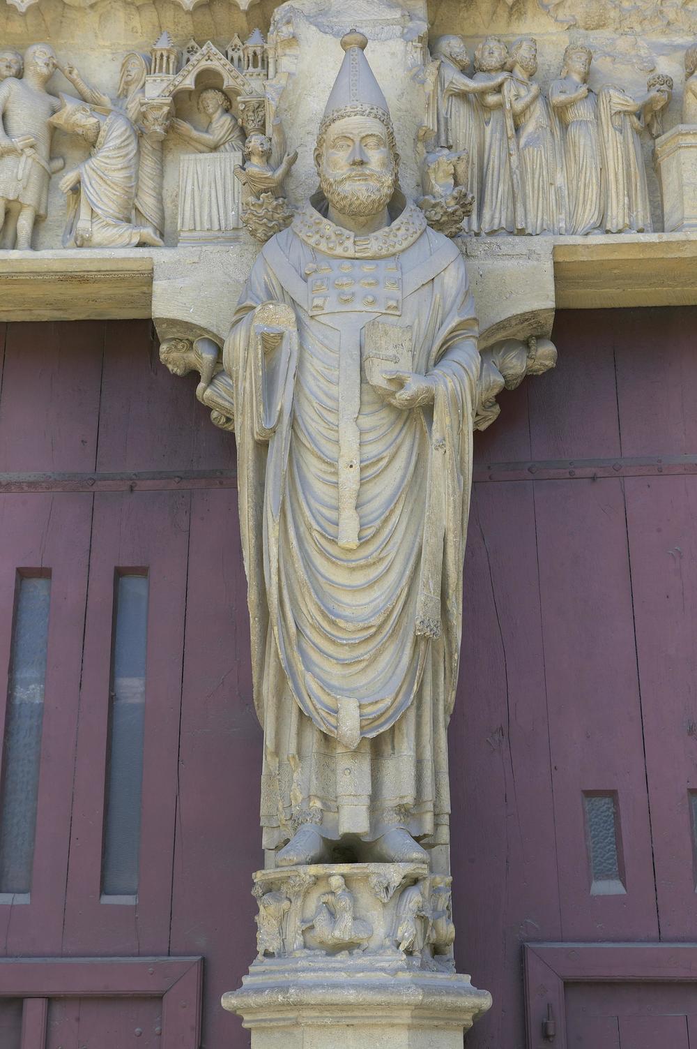 Trumeau Figure: Saint Calixtus I