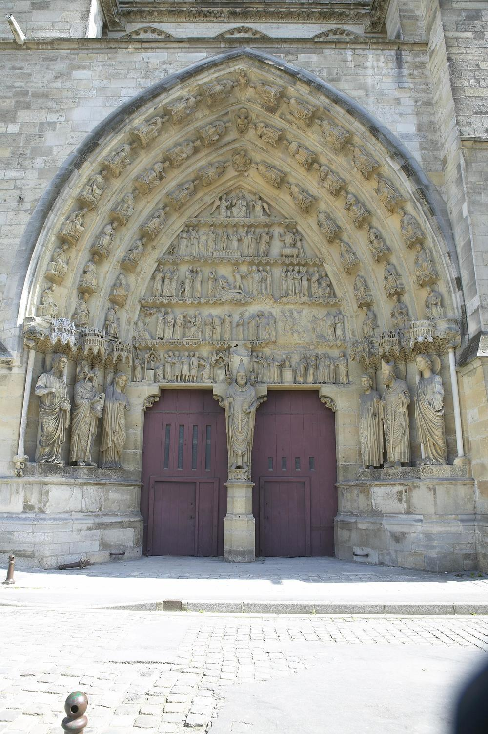 Saints' Portal, North Transept, Reims Cathedral