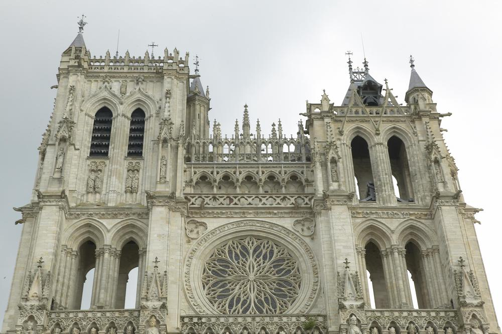 West Facade, Amiens Cathedral