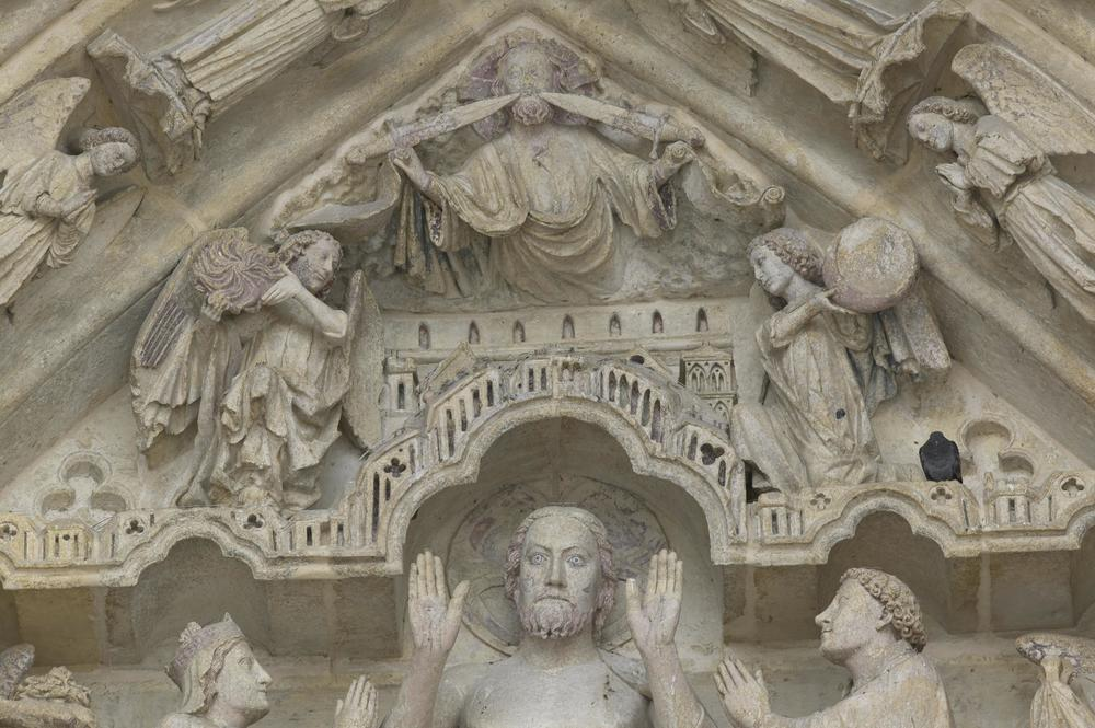 Christ in Judgement, Tympanum