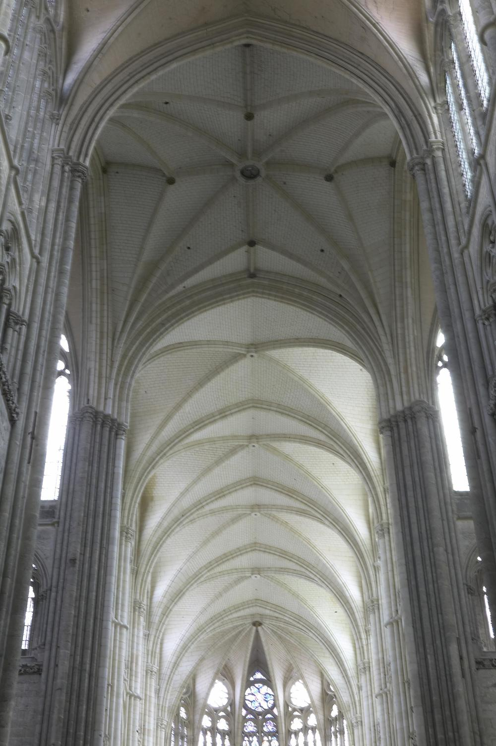 Vaulting in the Apse