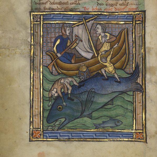 Los Angeles, J. Paul Getty Museum, Ms. Ludwig XV 3, fol. 89v. Bestiary, France, ca. 1270.