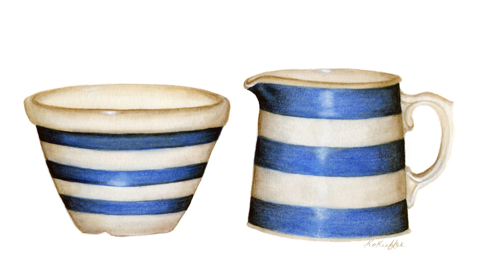 Hoffman Jug and Bowl