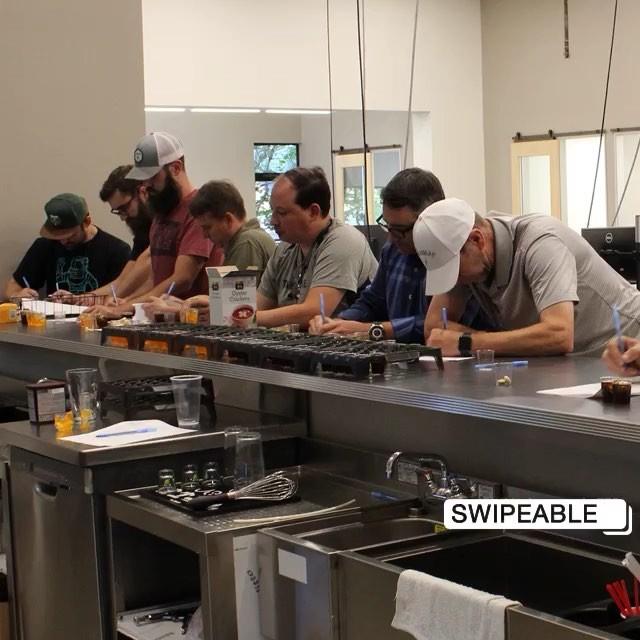 Team Jevo takes #tastetesting very seriously.
