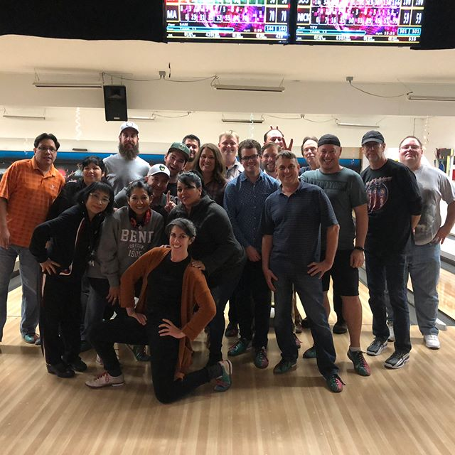 Team Jevo had a great outing today at @tigardbowl. Thanks for hosting us! We're looking forward to next time.