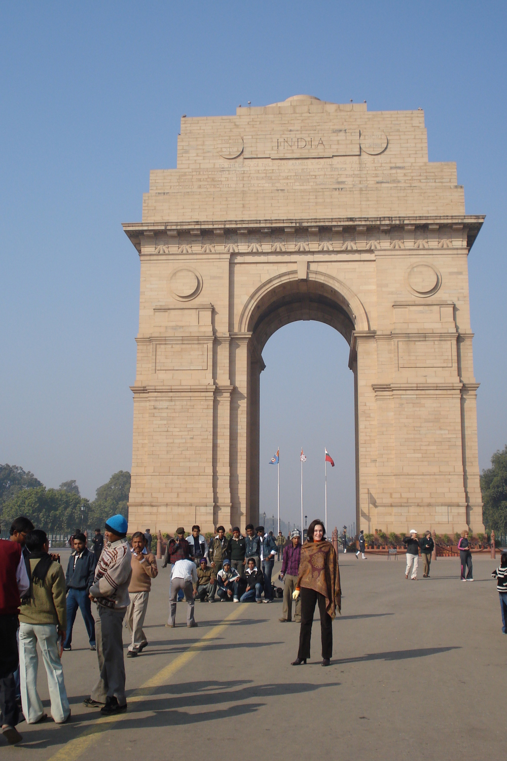 Anna near India Gate, Delhi