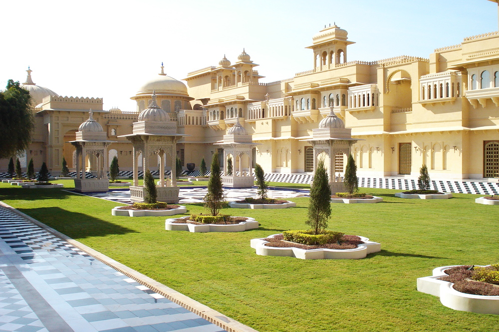 Voted best hotel in the world by Conde Nast, Oberei, Udaipur, Rajasthan.