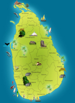 The Island of Sri Lanka, formerly Ceylon
