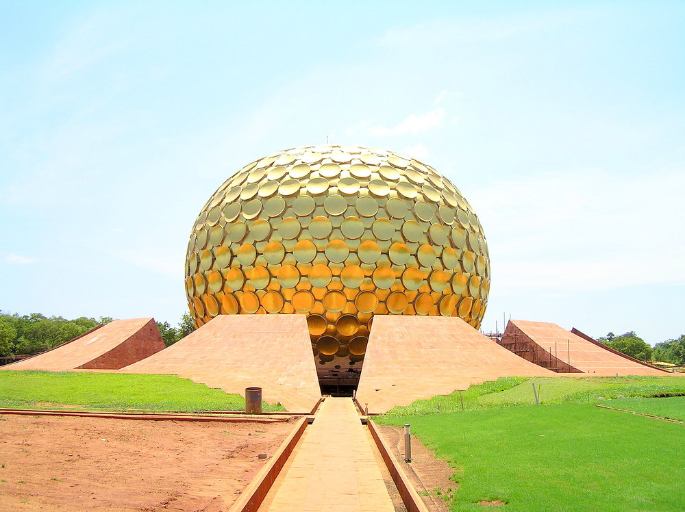 Mantrimandir in Auroville, Pondicherry