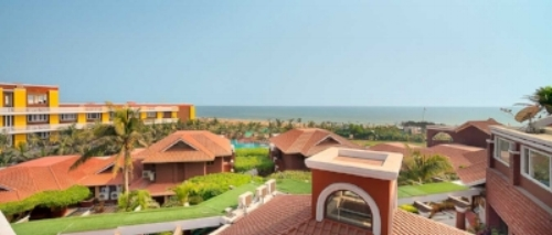 Mayfair Heritage Hotel in Puri on the beach  .