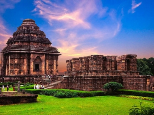 Sun temple in Konark