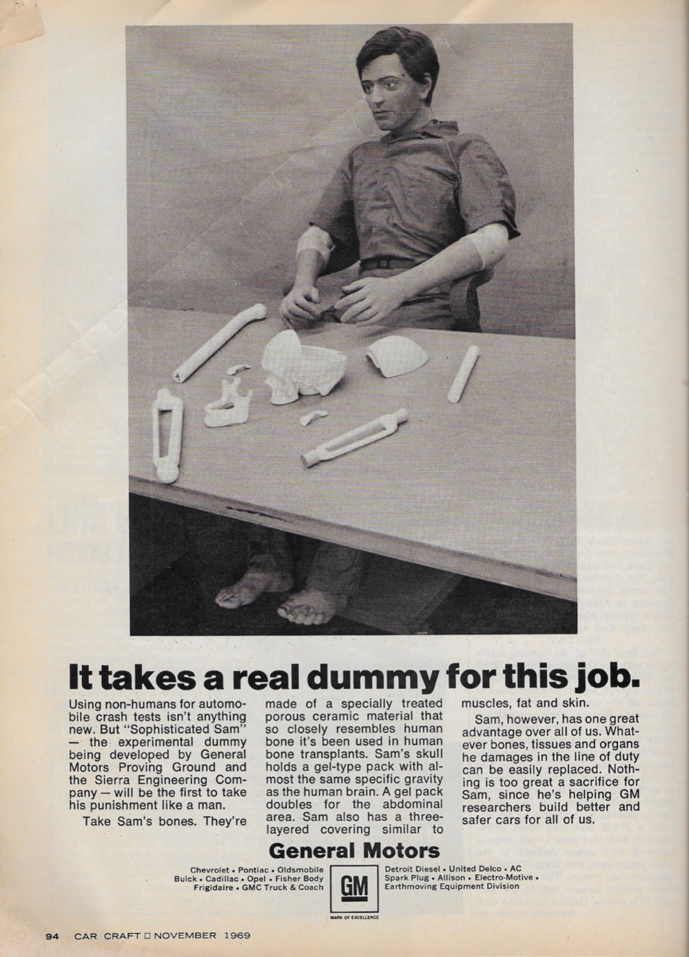 Figure 1  Advertisement from the November 1969 issue of  Car Craft