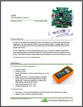 LR4 Data Sheet (PDF)