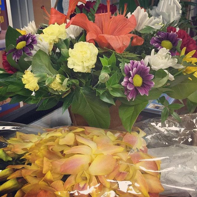 Wonderful flowers from our patients 😁👌🏻