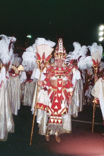 Dancing in the Carnival/ Rio de Janeiro, Brazil