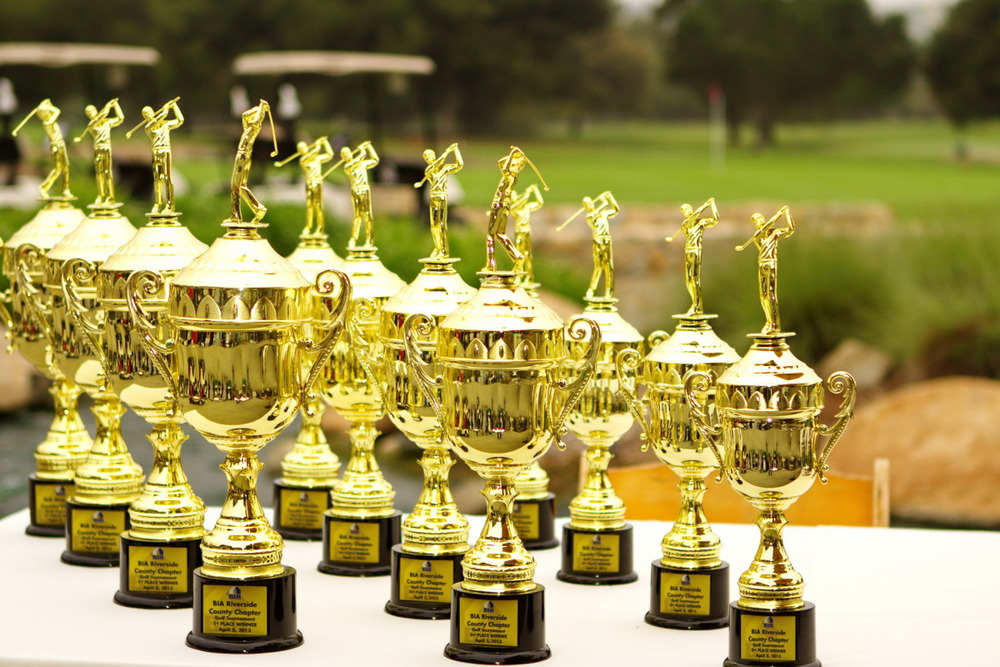 Trophies for Tournament Winners