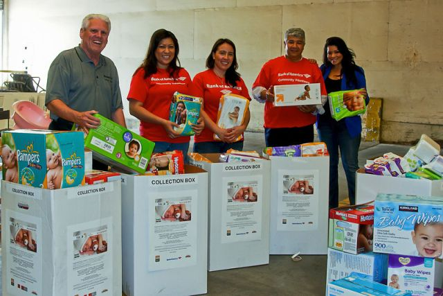 HomeAid Inland Empire is hoping to collect more than 300,000 baby care items during its 7th Annual Essentials For Young Lives collection campaign March 1-25. The Essentials items collected will be distributed to children who reside with their families at transitional living homeless shelters in Riverside and San Bernardino counties. Bank of America is the primary event sponsor again for this year's Essential campaign.