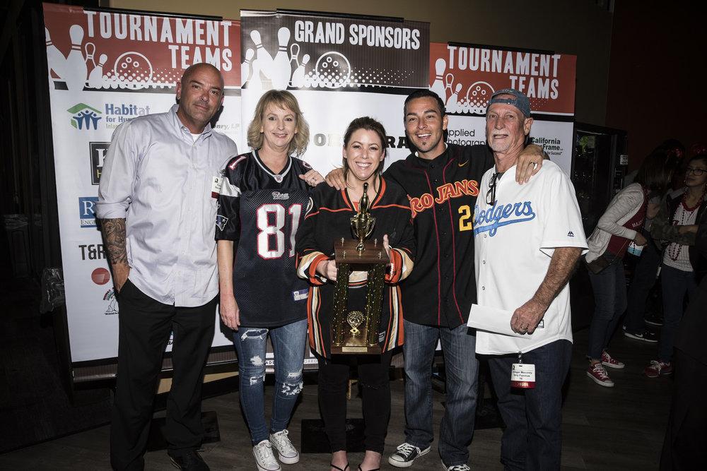JGinger Masonry: Champion, 1st Place Winners