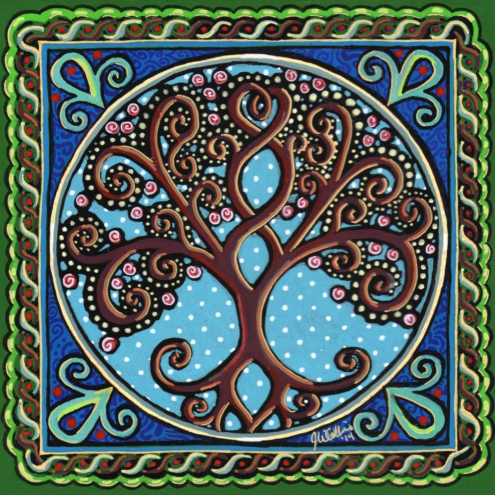 Celtic Paintings Jay Winter Collins