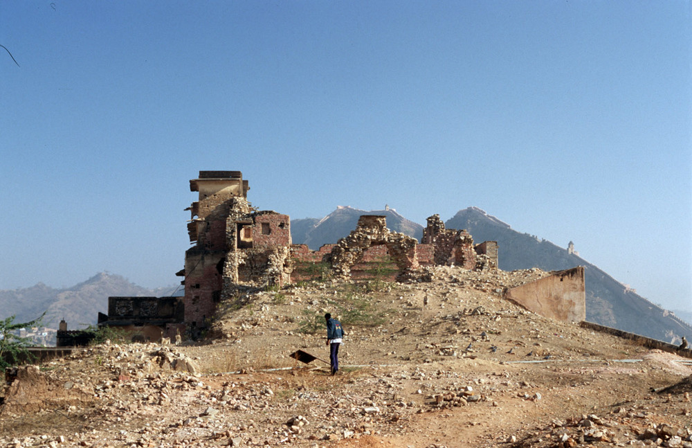 fort temple ruins india