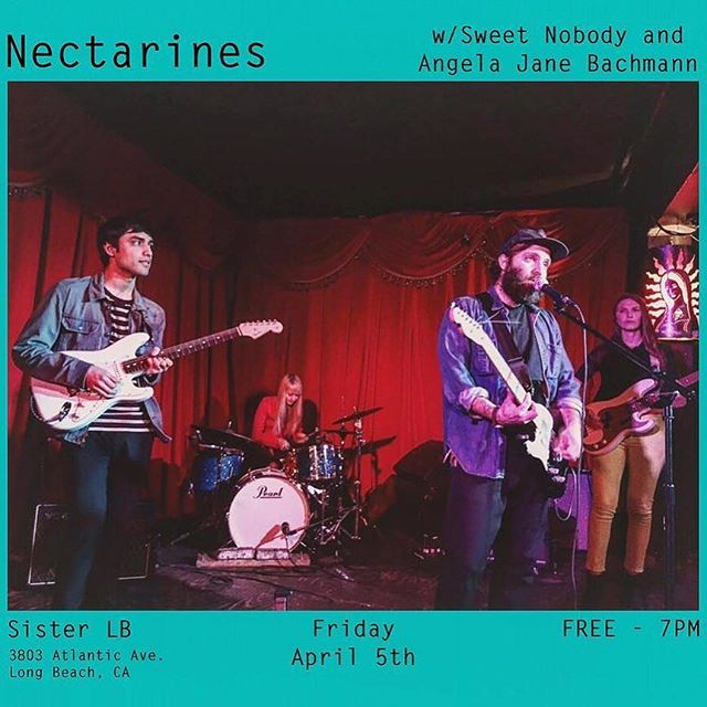 @NectarinesBand all-ages early show in Bixby Knolls tonight for first fridays. bring the fam.