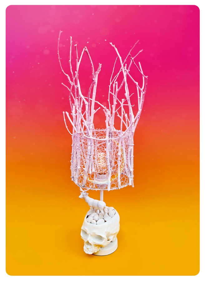 Found object sculpture / Photography. Copyright GWA (aka Wade Goring).
