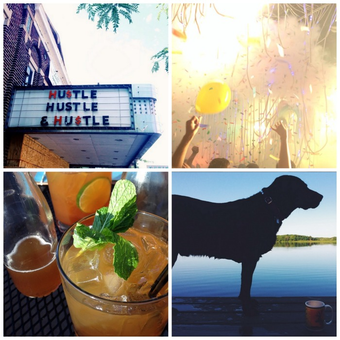 This week's Instas! Clockwise from top left: @alexinthecity @marjan21 @stanmade @anniedsouz