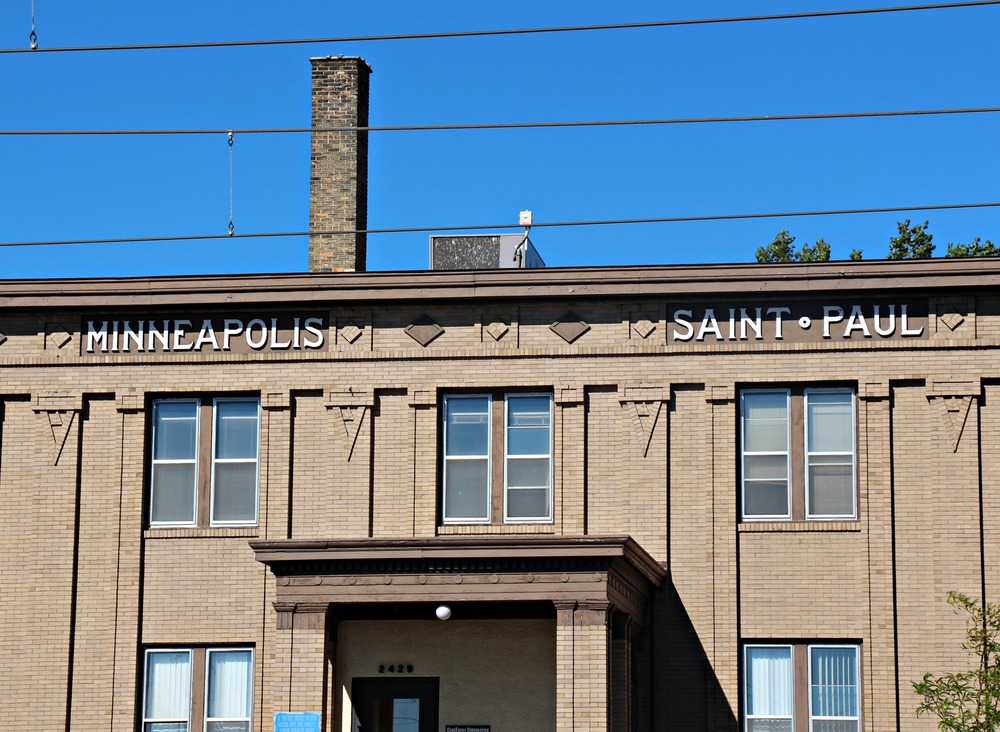 The Minneapolis-Saint Paul Building, Built in 1909
