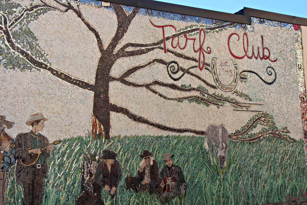 Turf Club Mosaic in St. Paul