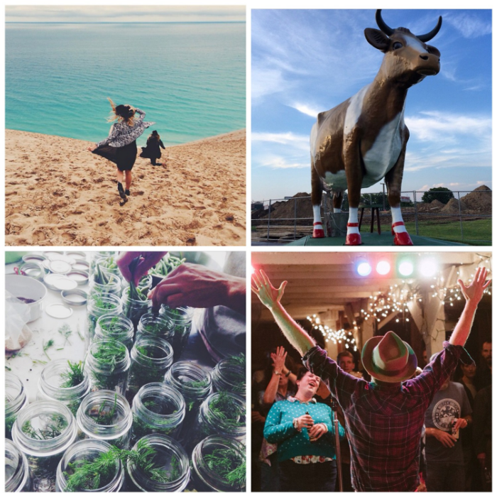 This week's Instacrushes! Clockwise from top left: @ jilldv  , @ jessicag13 , @ joshharoldson ,  @ lindsayrebhan