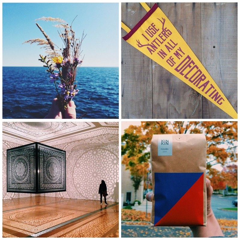 This week's  Instacrushes ! Clockwise from top left: @ joewhitson , @ oxfordpennant , @ shadeoftheday , @ 2kulha4uha
