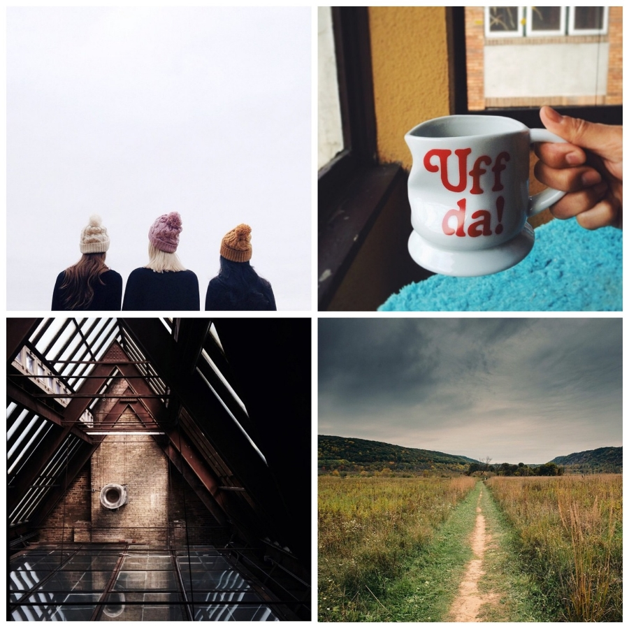 This week's Instacrushes! Clockwise from top left: @canarygrey, @hae.ohs, @brconverse, @jack__callahan