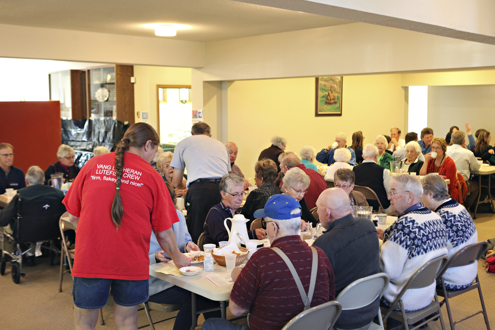 Lutefisk Dinner at Vang Lutheran Church - The Midwestival