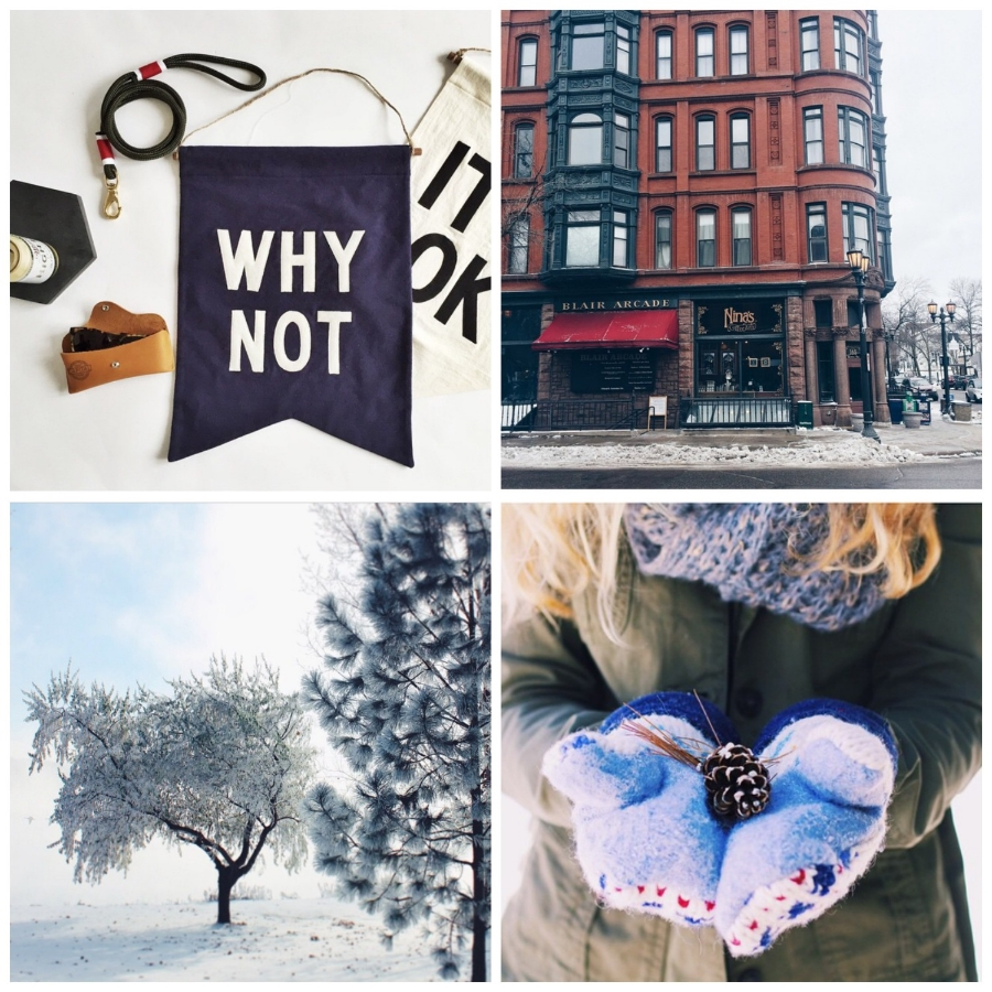 This week's Instacrushes! Clockwise from top left: @wilsonandwillys, @ellafran, @rachamae, @annie.persson