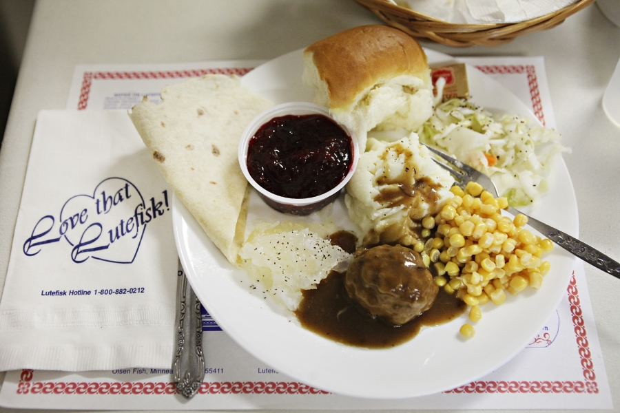 Lutefisk Dinner at Vang Lutheran Church in Minnesota - The Midwestival